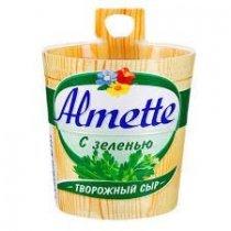 Сливочный сыр Almette c зеленью 150 гр.-bakida-almaq-qiymet-baku-kupit
