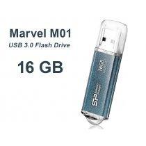USB флешка Silicon Power UFD 3.0, Marvel M01, 16GB, Blue (SP016GBUF3M01V1B)-bakida-almaq-qiymet-baku-kupit