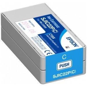 Картридж Epson SJIC22P(C) INK FOR TM-C3500 / Blue (C33S020602)