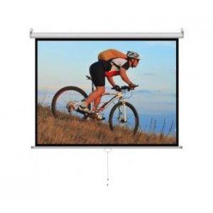 Proyektor pərdələr Cyber M120D Manual Screen (96 x70 )240x180cm, White Matt 3D (M120D)