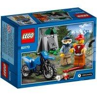 КОНСТРУКТОР LEGO City Police Погоня на внедорожниках (60170)