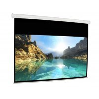 Проекционный экран Cyber Electrical Wide Screen 330x187cm, Ratio16:9, (Tubular Motor) White Matt 3D EH150D (AES150W-D)