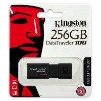 Флеш память USB Kingston 256 GB 3.0 DataTraveler 100 G3 (DT100G3/256GB)