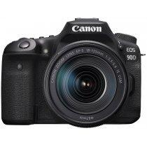 Зеркальный фотоаппарат CANON D.CAM EOS 90D BK 18-135 (3616C029)-bakida-almaq-qiymet-baku-kupit