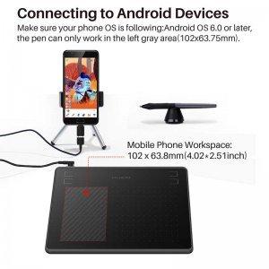 Qrafik Planşet Huion HS64 Android 6