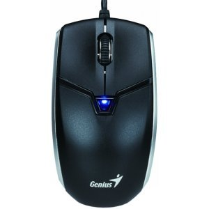 Проводная мышь Genius Cam Mouse, BlueEye, 1200 dpi , 2M HD cam, QR code/Editing SW, Black (31010169101)