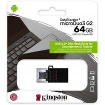 USB флешка Kingston 64 GB DT MicroDuo 3 Gen (DTDUO3G2/64GB)