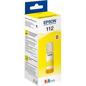 Чернила Epson 112 ECOTANK YELLOW INK BOTTLE (C13T06C44A)