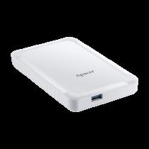 Внешний Apacer 2 TB USB 3.1 Gen 1 Portable Hard Drive AC532 White Shockproof (AP2TBAC532W-1)-bakida-almaq-qiymet-baku-kupit