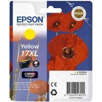 Картридж Epson I/C (y) XP33/203/303 HAV3-P (Claria Home 17XL) Yellow (C13T17144A10)