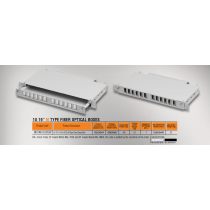 "Mirsan 1U 19"" 12 Port SCD, M Type Fiber Optical Box (MR.FOM1U12SCD.07)-bakida-almaq-qiymet-baku-kupit"
