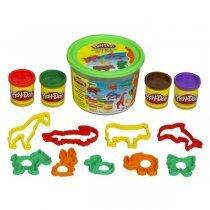Hasbro Игровой набор с пластилином в корзине (23414)-bakida-almaq-qiymet-baku-kupit