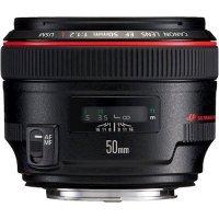 Şəkil lensləri CANON EF 50/1,2 L USM (1257B005)