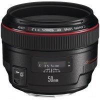 Фотообъектив Canon LENS 50mm f/1.2 EF 50 f/1.2 (f/1.2 EF 50 f/1.2)