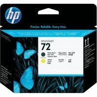 Струйный картридж HP № 72 C9384A (Матовый черный и желтый)