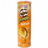 Чипсы Pringles  Принглс со вкусом Паприка 165гр