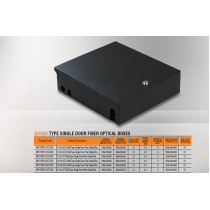 Mirsan 12 Port SCD, Wall Type Single Door Fiber Optical Box (MR.FOWM12SCD.01)-bakida-almaq-qiymet-baku-kupit