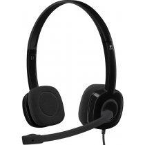 Mikrofonlu qarnitura Logitech Stereo Headset H151 One Plug-bakida-almaq-qiymet-baku-kupit
