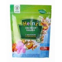 Молочная овсяная с персиком каша Heinz 250 г, с 5 месяцев-bakida-almaq-qiymet-baku-kupit