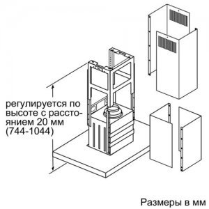 Вытяжка Bosch DIB97IM50 (Silver)