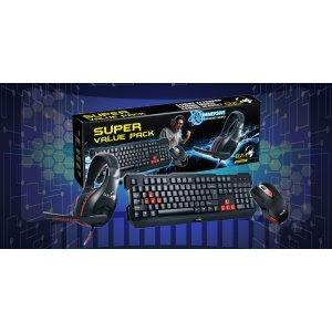Gaming Keyboard Mouse Headset Genius (KMH-200)