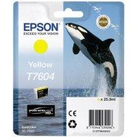 Картридж Epson T760 SC-P600 Yellow (C13T76044010)