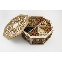Подарочная коробка с сухофруктами-bakida-almaq-qiymet-baku-kupit
