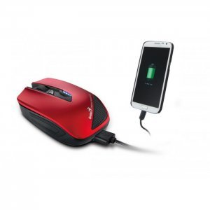 Mouse Genius wireless to power  up smartphone (31030107102)
