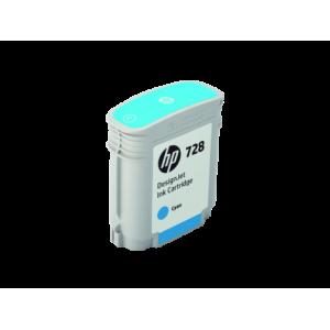 Cərəyan kartric HP № 728 F9J63A (Голубой)