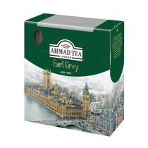 Чай Ahmad Earl Grey черный с бергамотом 100 пакетиков-bakida-almaq-qiymet-baku-kupit