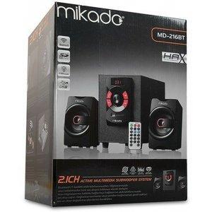 Акустическая система мультимедиа 2,1 Mikado 14 Вт Bluetooth + USB SD FM (MD-216BT)