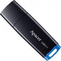 Flesh yaddaş Apacer 64 GB USB 3.1 Gen 1 AH359 Streamline Flash Drive / Black (AP64GAH359U-1)