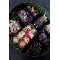 Подарочная коробка сухофрукты и чай-bakida-almaq-qiymet-baku-kupit