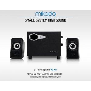Акустическая система Mikado 2,1 USB (MD-X15)