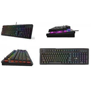 Gaming Keyboard Genius Smart RGB LED USB Scorpion (K10)
