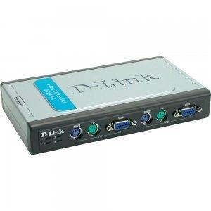 Переключатель на 4 компьютера профессиональный D-Link DKVM-4K PS\2 (DKVM-4K)