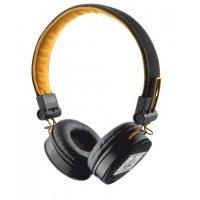 Наушники Trust Urban Fyber Headphone - black/orange (20079)