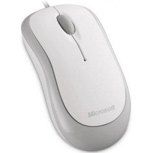 Mouse Microsoft Basic USB / PS2 white (4YH-00008)
