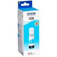 Mürekkep Epson 106 EcoTank CY Ink Bottle / Blue (C13T00R240)