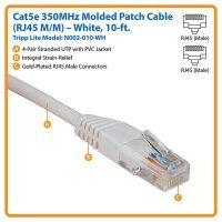 Кабель Tripp Lite Cat5e 350MHz Molded Patch Cable RJ45M/M - 10' (3m) (N002-010)