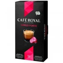 Qəhvə kapsulları Kafe Royal Lungo Forte 10 ədəd (Nespresso qəhvə maşınlarına uyğundur)-bakida-almaq-qiymet-baku-kupit