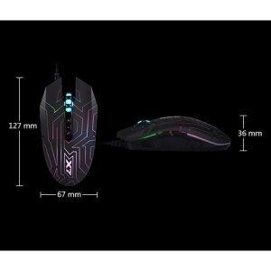 Mouse A4Tech Gaming Oscar X7 USB (X77 maze)