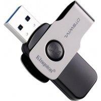 Флеш память USB Kingston 128GB USB 3.0 DataTraveler SWIVL (DTSWIVL/128GB)