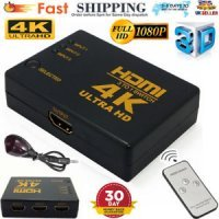 Splitter HDMI Video Splitter 1in-3out port UHD