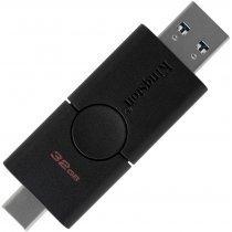 USB флешка Kingston 32 GB DataTraveler Duo (DTDE/32GB)