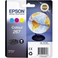 Картридж Epson Tri-colour Ink for WorkForce WF-100W (C13T26704010)