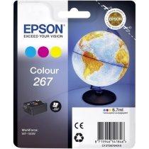 Картридж Epson Tri-colour Ink for WorkForce WF-100W (C13T26704010)-bakida-almaq-qiymet-baku-kupit