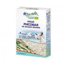 Fleur Alpine Молочная Рисовая каша на козьем молоке 4 мес., 200 г-bakida-almaq-qiymet-baku-kupit