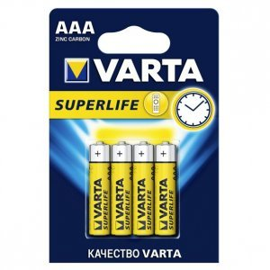 Батарейки VARTA SUPERLIFE 2003 AAA (4)