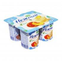 Йогурт «Нежный» с соком персика Campina 1,2% 0,1 л. 1 шт-bakida-almaq-qiymet-baku-kupit